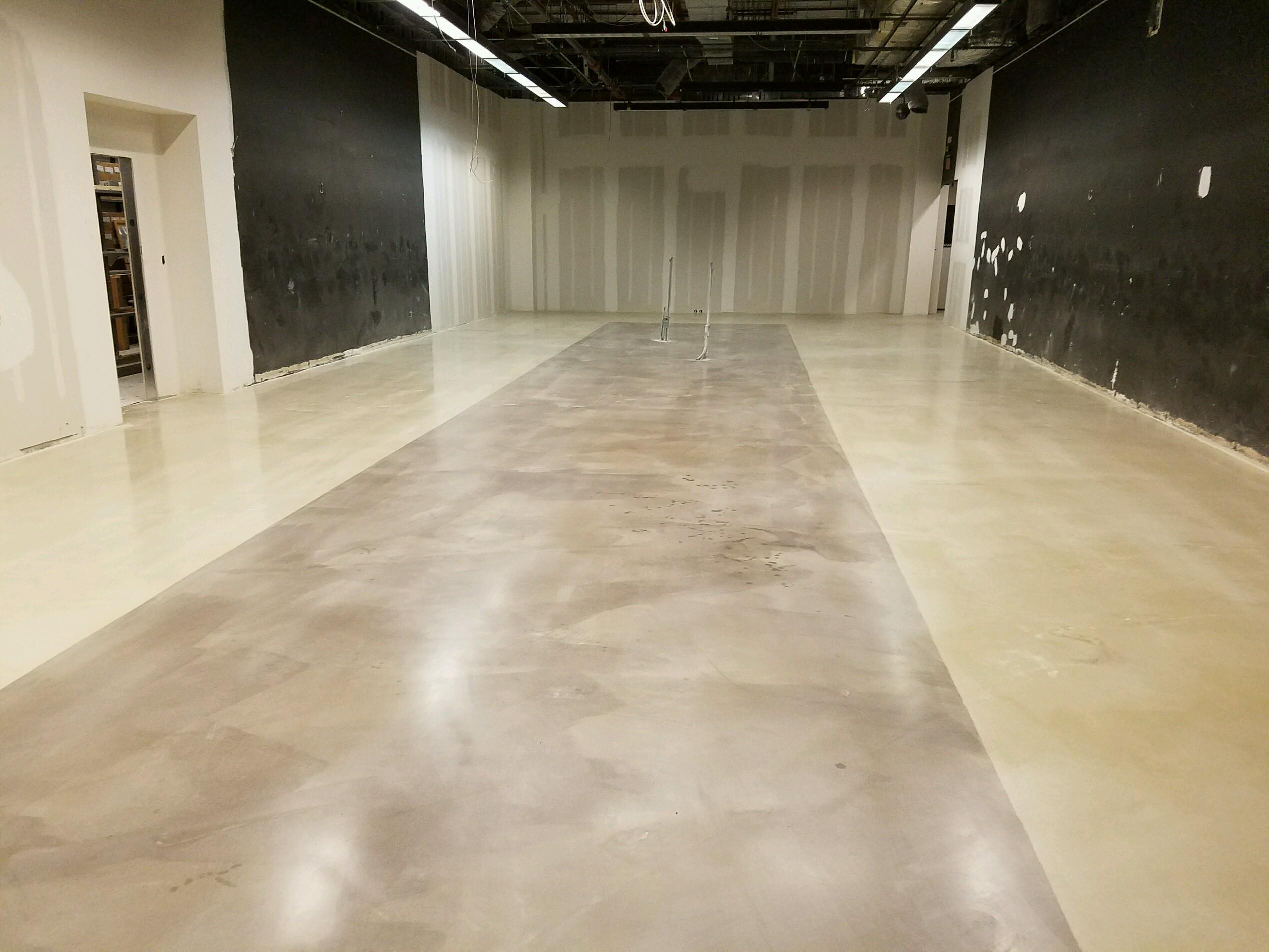 Resinous Floor Installation – D&T Polishing